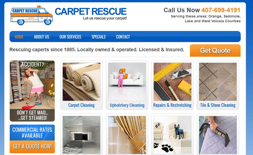 Carpet Rescue Services